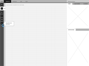 Wireframe sample 1